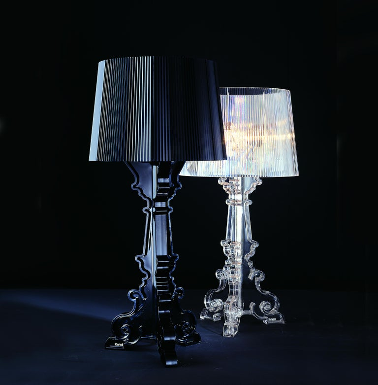 Kartell Bourgie Lamp in Glossy Black by Ferruccio Laviani In New Condition For Sale In New York, NY