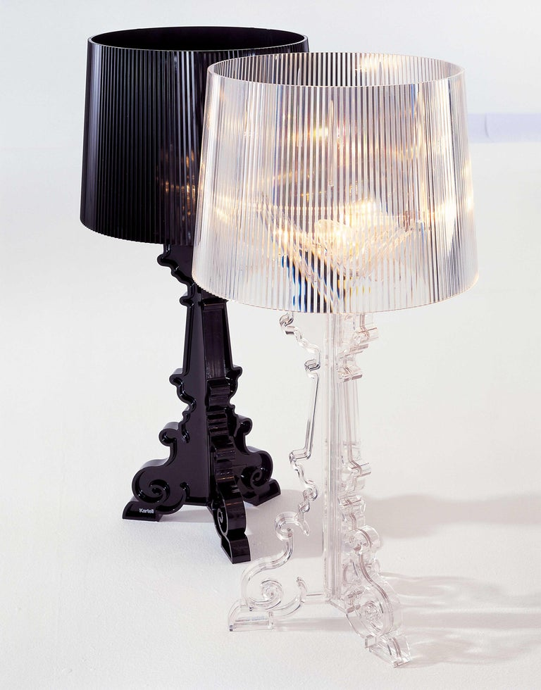 Contemporary Kartell Bourgie Lamp in Glossy Black by Ferruccio Laviani For Sale