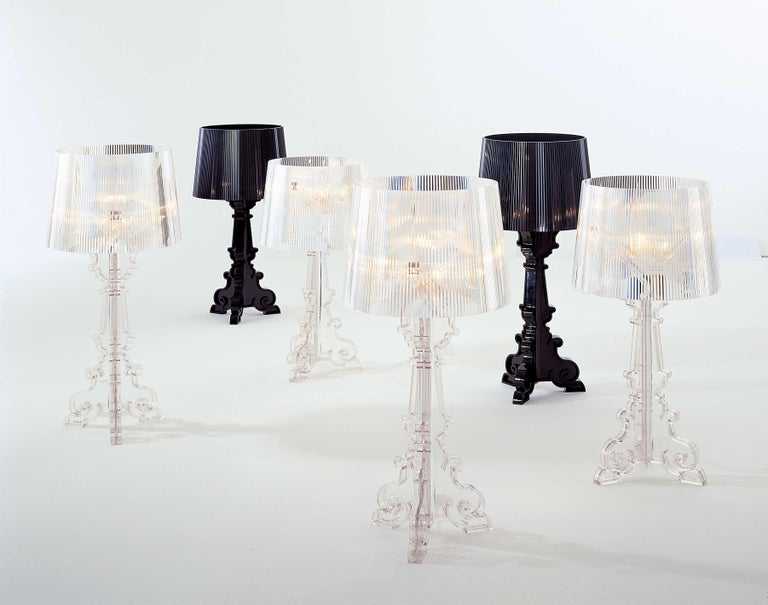 Kartell Bourgie Lamp in Glossy Black by Ferruccio Laviani For Sale 2