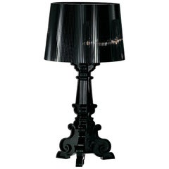 Kartell Bourgie Lamp in Glossy Black by Ferruccio Laviani