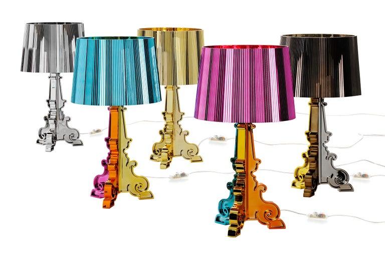 Italian Kartell Bourgie Lamp in Gold by Ferruccio Laviani For Sale