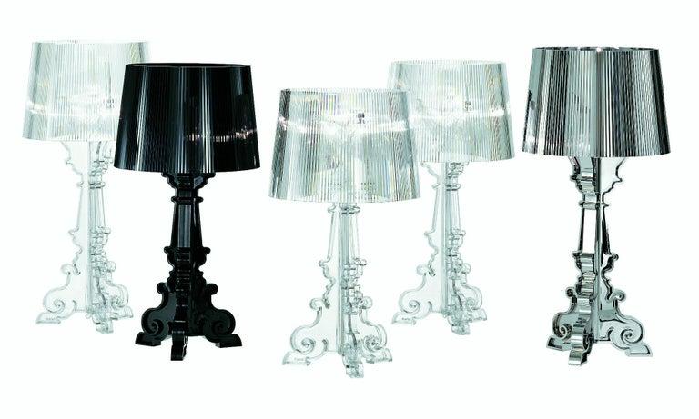 Contemporary Kartell Bourgie Lamp in Multicolored Titanium by Ferruccio Laviani For Sale