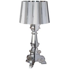 Kartell Bourgie Lamp in Silver by Ferruccio Laviani