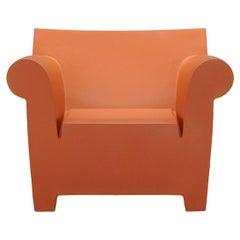 Kartell Bubble Club Armchair in Ochre by Philippe Starck