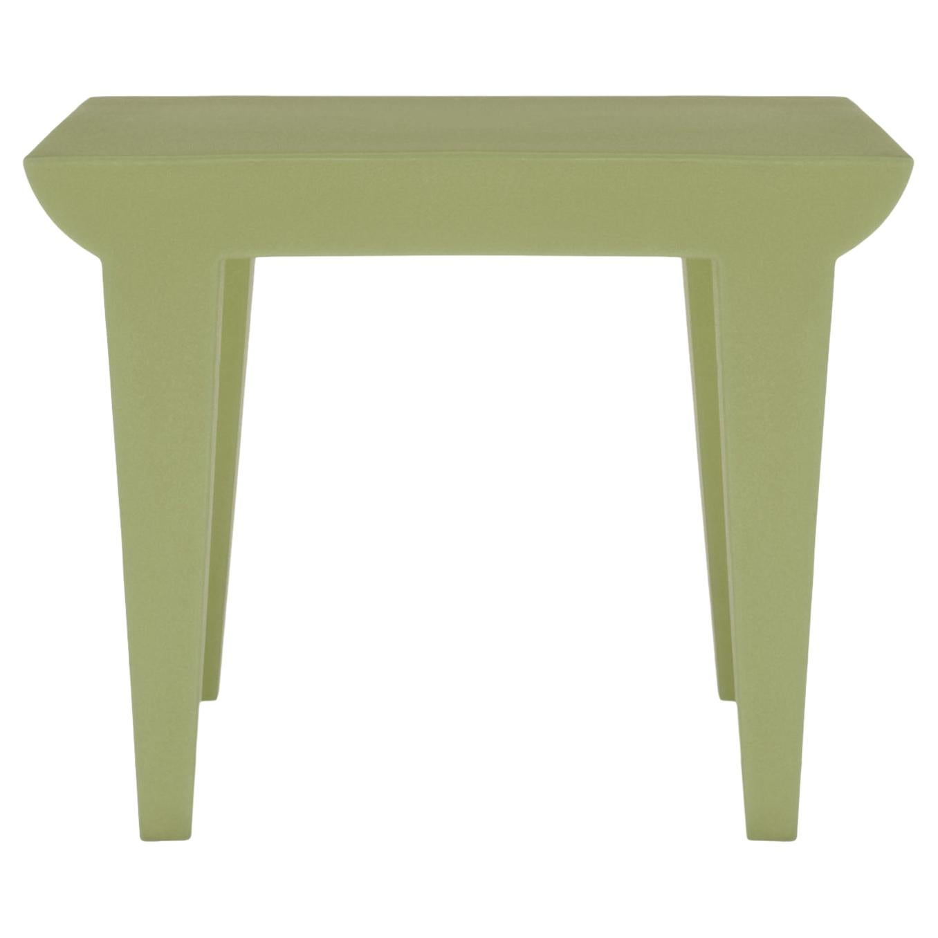 Kartell Bubble Club Side Table in Green by Philippe Starck