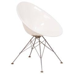 Kartell by Philippe Starck Modern Ero/S White Dining Chair