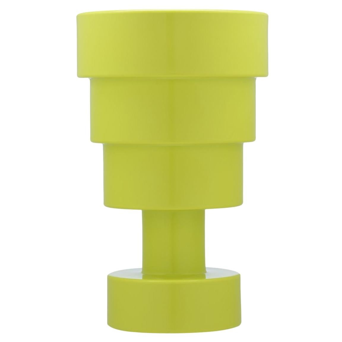 Kartell Calice Stool in Green by Ettore Sottsass