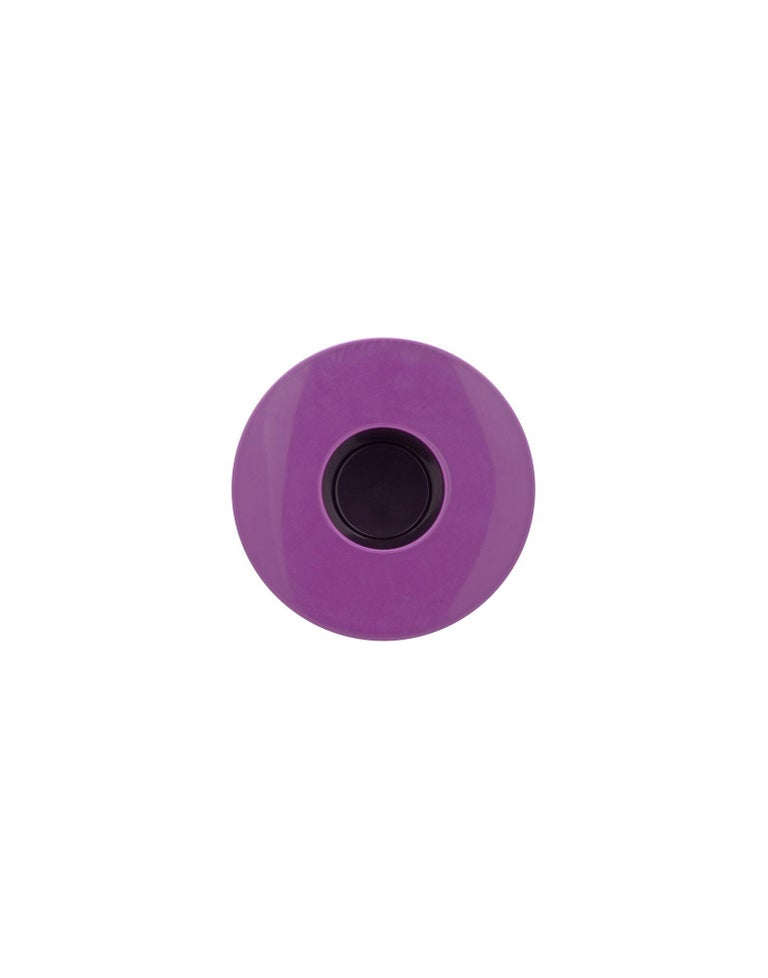 Modern Kartell Calice Stool in Violet by Ettore Sottsass For Sale