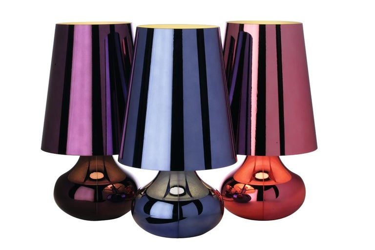 Modern Kartell Cindy Lamp in Platinum by Ferruccio Laviani For Sale