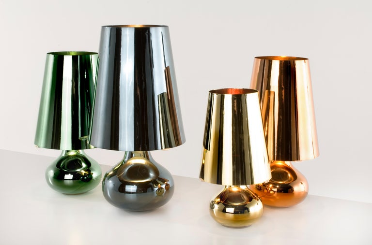 Kartell Cindy Lamp in Platinum by Ferruccio Laviani In New Condition For Sale In New York, NY