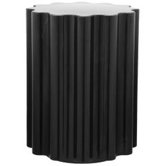 Kartell Colonna Stool in Black by Ettore Sottsass