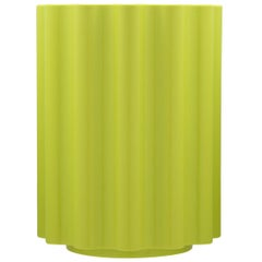 Kartell Colonna Stool in Green by Ettore Sottsass