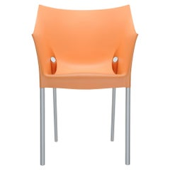 Set of 2 Kartell Dr. No in Light Orange by Philippe Starck