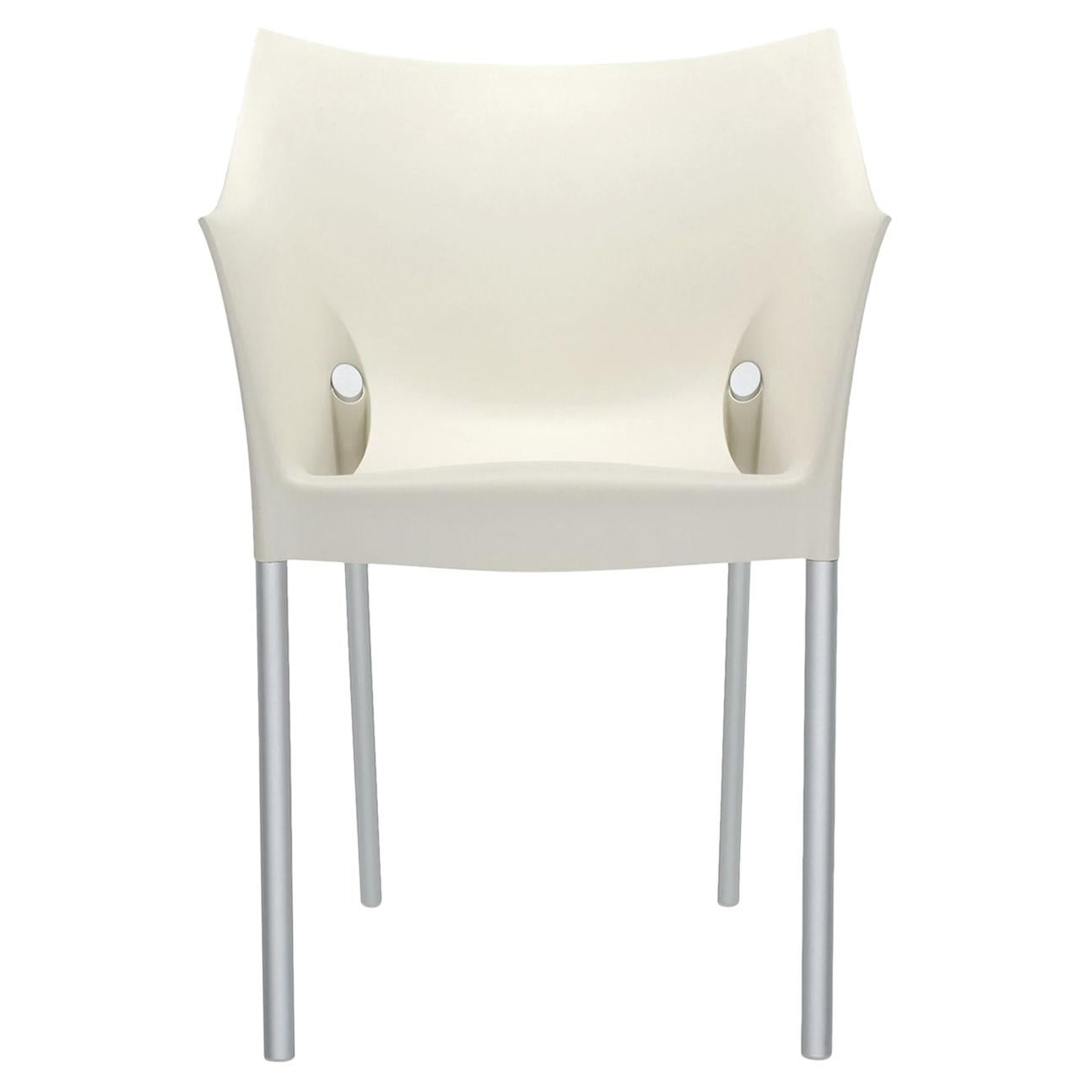 Set of 2 Kartell Dr. No in White by Philippe Starck