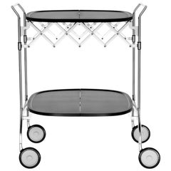Kartell Gastone Trolley in Black by Antonio Citterio & Oliver Löw