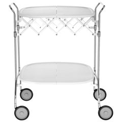 Kartell Gastone Trolley in White by Antonio Citterio & Oliver Löw