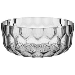 Kartell Jellies Basket in Crystal by Patricia Urquiola