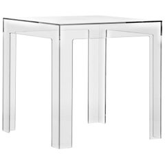 Kartell Jolly Side Table in Crystal by Paolo Rizzatto