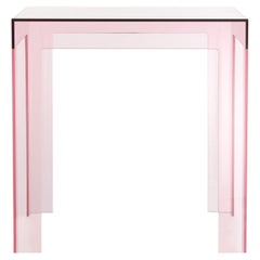 Kartell Jolly Side Table in Pink by Paolo Rizzatto