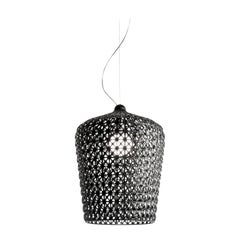 Kartell Kabuki Pendant Light in Black by Ferruccio Laviani