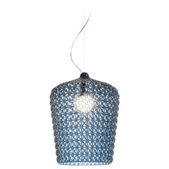 Kartell Kabuki Pendant Light in Blue by Ferruccio Laviani