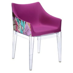 Kartell Madame Chair in New York Print by Philippe Starck in Rome Crystal