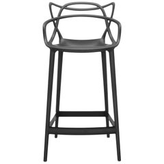 Kartell Masters Counter Stool in Black by Philippe Starck & Eugeni Quitllet