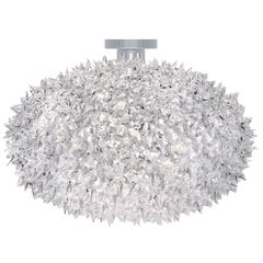 Kartell Medium Bloom Wall Sconce in Crystal by Ferruccio Laviani