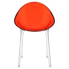 Kartell Mr. Impossible Chair in Red Orange by Philippe Starck & Eugeni Quitllet