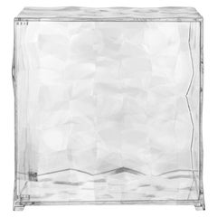 Kartell Optic Cube in Crystal by Patrick Jouin