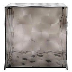 Kartell Optic Cube in Smoke by Patrick Jouin