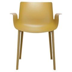 Kartell Piuma Chair in Mustard by Piero Lissoni
