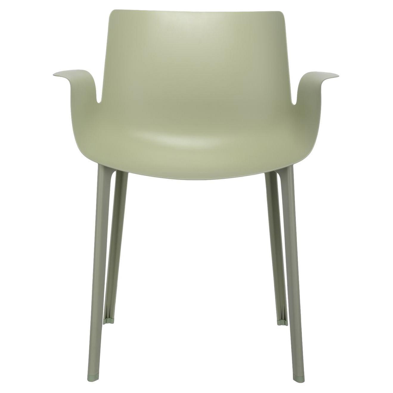 Kartell Piuma Chair in Sage by Piero Lissoni