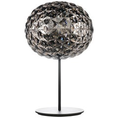 Kartell Planet Stand Lamp in Fume by Tokujin Yoshioka
