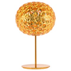 Kartell Planet Stand Lamp in Yellow by Tokujin Yoshioka