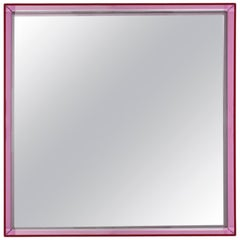 Kartell Short Only Me Mirror in Fuchsia by Philippe Starck