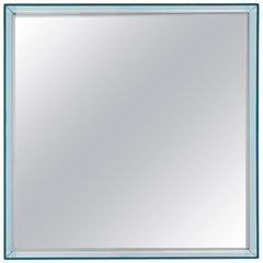 Kartell Short Only Me Mirror in Light Blue by Philippe Starck