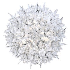 Kartell Small Bloom Wall Sconce in Crystal by Ferruccio Laviani