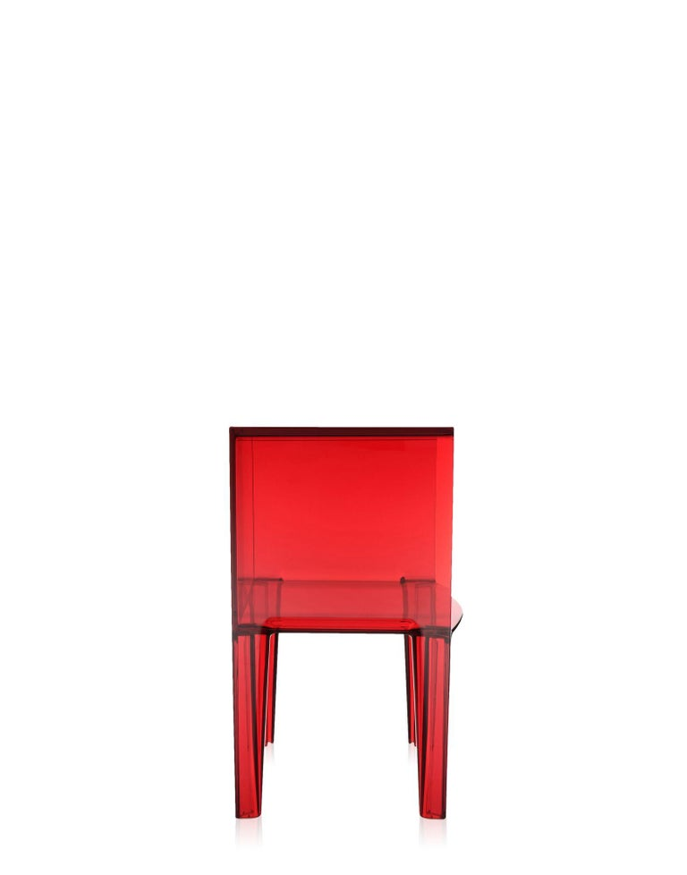 Modern Kartell Small Ghost Buster Red Nightstand by Philippe Starck & Eugeni Quitllet For Sale