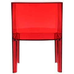 Kartell Small Ghost Buster Red Nightstand by Philippe Starck & Eugeni Quitllet