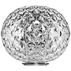 Kartell Small Planet Table Lamp in Crystal by Tokujin Yoshioka