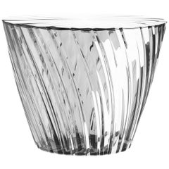 Kartell Sparkle Round Table-Stool in Crystal by Tokujin Yoshioka