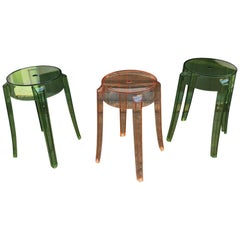 Kartell Stacking Stools by Philippe Starck