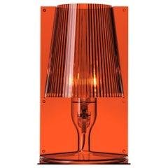 Kartell Take Lamp in Amber by Ferruccio Laviani