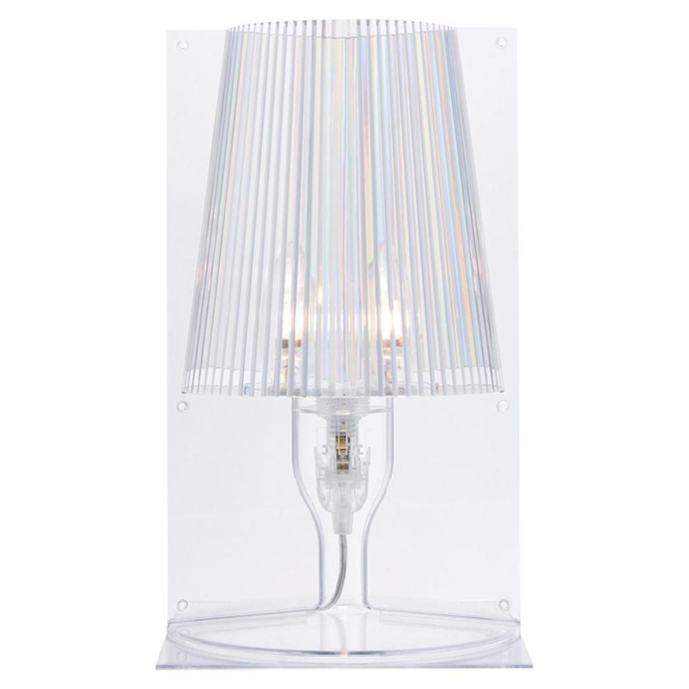 Kartell Take Lamp in Crystal by Ferruccio Laviani