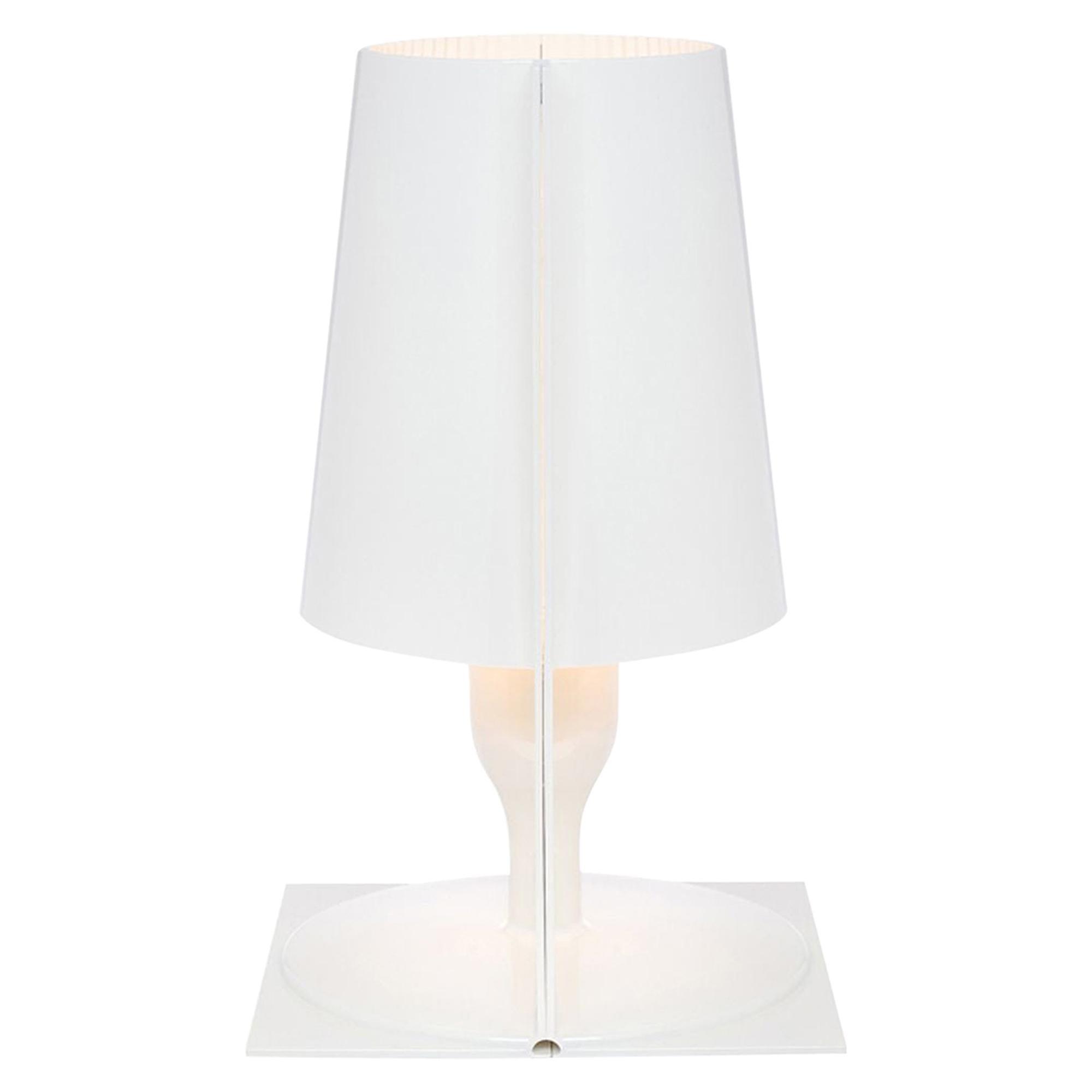 Kartell Take Lamp in Solid White by Ferruccio Laviani