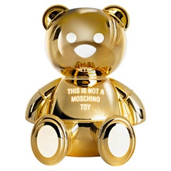 Kartell Toy Lamp Moschino Design by Jeremy Scott in Gold
