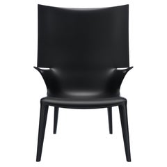 Kartell Uncle Jim Armchair in Black by Philippe Starck
