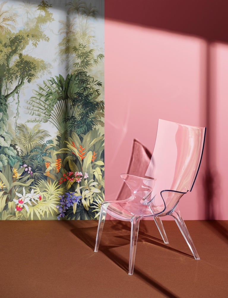 Kartell Uncle Jim Armchair in Clear by Philippe Starck For Sale 1