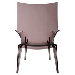 Kartell Uncle Jim Armchair in Smoke by Philippe Starck